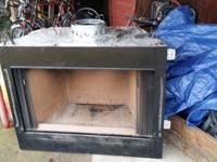 Have a fireplace and fireplace insert that was