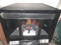 """Heatilator 36"""" broad x 291/4"""" tall, Silhouette Electric"""