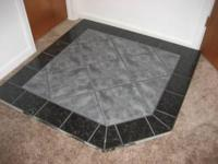 This hearth pad is in excellent condition and is very