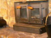 For sale A very Nice Forrester Fireplace Insert plus