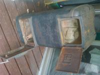 Cast-Iron Fireplace Screen - $95. ? Sturdy Cast-Iron