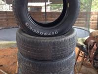 I have 4 Firestone Destination tires. They are 255 65R