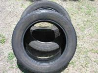 For sale 3 made use of tires with great tread left,