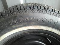 Brand New Firestone OEM Tire P215/70R15 m+s, white