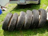 Motor Home Tires..... hardly any wear...... minor