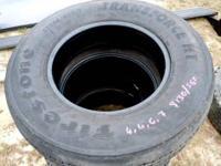 Firestone Transforce Tires LT235/80R17 Set of 4 Load