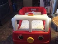 I am sell firetruck bed toddler I don't need it anymore
