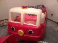 Fire truck toddler bed! Your little one with LOVE this