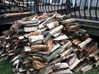 I have 1 and 1/3 Cord of mixed hardwood split, mostly