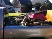 I got dry firewood selling truck load for $100 or you