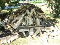 I have over a cord of split firewood. All oak and ash