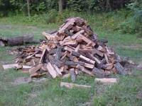 Seasoned Mixed Hardwood Firewood. Pickup Truck Load. 4