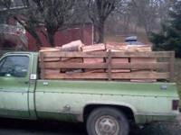 Seasoned wood doug fir Call anytime  Chris