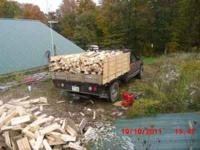 OK I HAVE ALOT OF FIREWOOD ALL HARDWOODS