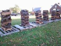 Seasoned mixed hardwoods fifteen dollars a stack at