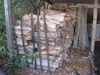 Firewood oak, seasoned, ready to burn, well over one