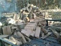 I have seasoned white oak firewood forsale cut and