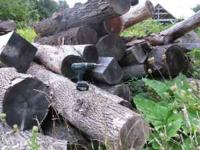 "3 face cords or one ""forest"" cord of firewood logs,"