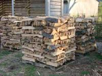"Oak & Pecan firewood, all machine split, 8"" to 12"""