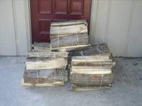 Hardwoods Mostly Oak and Maple - dried slabs and trim