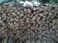 RED OAK FIREWOOD FOR SALE $100.00 1/2 CORD & $200.00 1