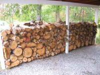 price is $60 per cord of white oak seasoned firewood.