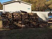 Firewood cured split oak, u-haul only priced at : short