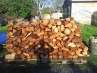 FIREWOOD $180 a cord.  DRY READY TO BURN SPLIT and