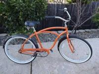 This is a great deal on a great ride. Bright Orange