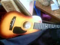 FIRST ACT CHILD'S GUITAR WITH CASE AND STRAP INCLUDED