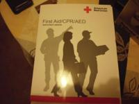 Brand new first aid manual from American red cross
