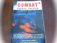 "First Edition ""Combat"" Pacific Theatre Edited by Don"