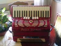 Type: Accordion Type: Hohner PAUL SOPRANOS 80 LOW IN