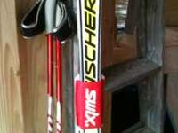 Fischer Skate/Cross- Country Skis... $200. Boots