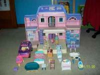 Long sought after Fischer Price Doll House as seen- A1