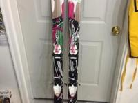 Used Twin Tip Skis with Fischer X7 Bindings. 155cm Lots