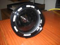 Fish Eye Lens, purchased in Hong Kong a few years ago