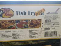 Fish Fry kit Brand new never been utilized still on an