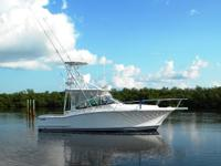 Accommodations The Luhrs 31 Open sleeps four and is a