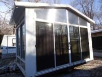 Fish House / Camper. 8ft Wide x 14ft Long. Hydraulic