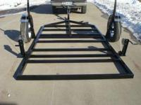 Custom made Crank Down Fish House Trailer   6'4 X 8'