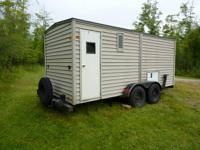 This trailer is perfect for a fish residence or hunting