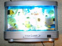 Fish lamp artificial aquarium this lamp offers the