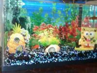 I have a 10gal. fish tank with filter, light, tank