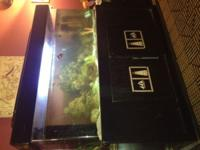 Huge fish tank, fit for a restaurant! over 200 pounds