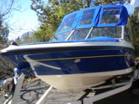 I have a 2007, 18 foot Bayliner fish and ski boat that