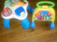 Selling Two Fisher Price Activity Toys one of them is