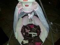 This infant swing is like brand-new condition,, it has