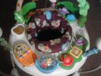 Activity jumper for baby Mulitple toys & lights  Music