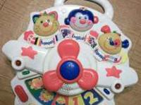 Fisher Price Airplane- French, Spanish and English